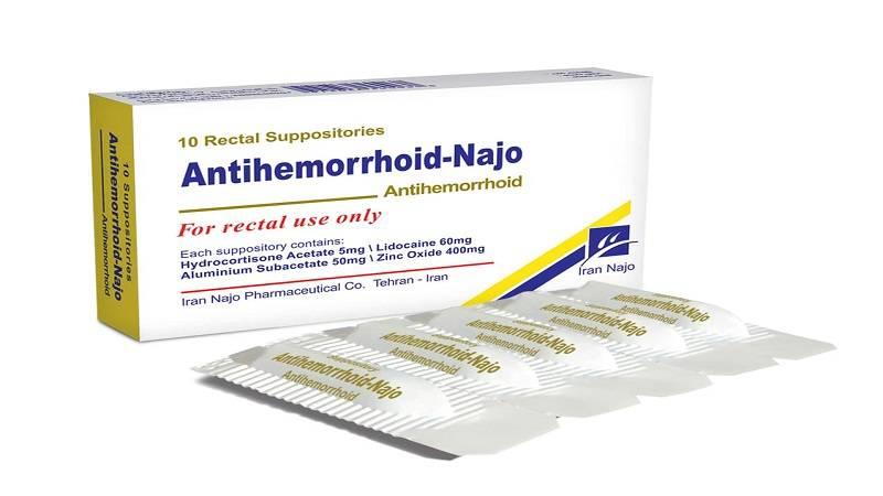 شیاف آنتی هموروئید یا ایپروئید چیست،نحوه مصرف،عوارض و شرایط نگهداری